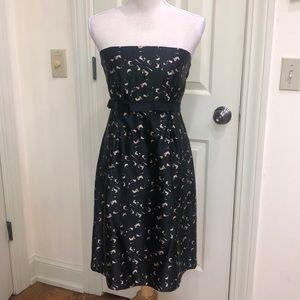 Milly New York Silk Strapless Dress